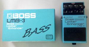 Boss LMB-3 Bass Limiter Enhancer Pedal