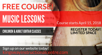 FREE - Guitar Lessons!