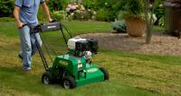 Lawn Care - Aeration, Power Rake, Power Vac