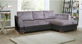 Camdem sofa sofabed corner left right hand facing fabric grey black mink beige brown cream