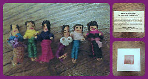 Trouble/Worry Dolls from The Margaret Woodbury Strong Museum London Ontario image 1