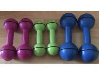Davina Dumbbell set of weights