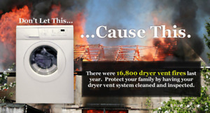 Dryer line cleaning and instillation