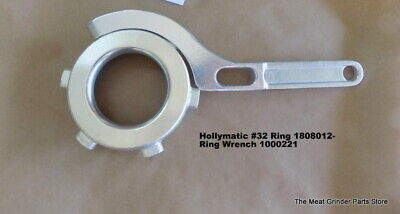 Hollymatic 180 8012 32 Mixer Grinder Head Ring Wrench 1000221