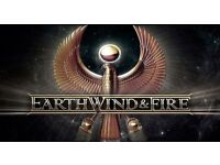 Earth,Wind & Fire *Block 102 + O2 VIP* Tickets, O2 Arena London