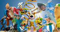 TINTIN VOITURES, FIGURINES, STATUES PEANUTS/SNOOPY