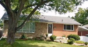 Well-maintained 3-bedroom bungalow for rent in SE Burlington