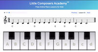 FREE Beginner Piano Lessons (Online) by Austrian Composer