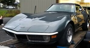 1970 MATCHING NUMBER CORVETTE