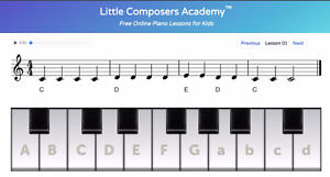 FREE Beginner Piano Lessons (Online) by Austrian Composer Prince George British Columbia image 1