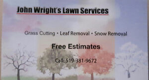 Contact John Wright's Lawn Services for LEAF REMOVAL Sarnia Sarnia Area image 2