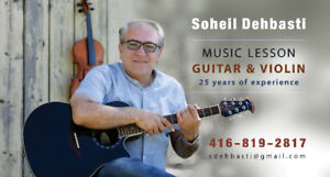 Guitar and Violin Lessons