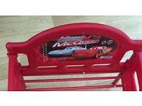 Lightening McQueen toddler bed without mattress £20