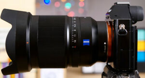 Sony Carl Zeiss 35mm F1.4 FE mount (non-working)