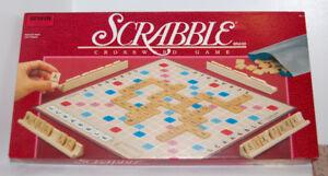 Vintage Scrabble Crossword Game 1989 Irwin Edition