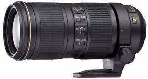 Nikon 70-200mm F/4 G Lens ED VR Nano Glass