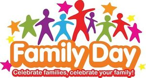 Family Day Book Sale - Monday February 20th