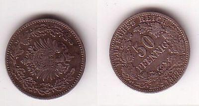 50 Pfennig Silber Münze Deutsches Reich 1877 C  (111752)