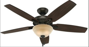 Hunter Ceiling Fan with Heater & Remote