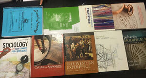 Textbooks - MATH, GMGT, STATS, HIST, PSYC, SOC,