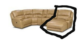 Sofa Sectional - Marco Genuine Leather Chaise