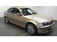 2001 BMW 330d SE MET GOLD,LEATHER,LONG MOT,CHEAP CAR
