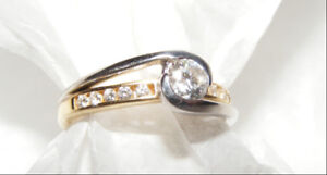 Ladies Diamond Ring -  Christmas Bling!