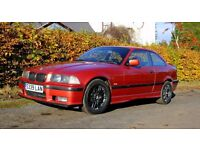 Sierra Red 1998 BMW 318is E36 Superb Example Under 100k