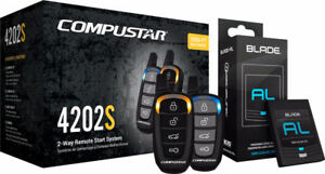 Compustar - 2-Way Remote Starter System with Installation