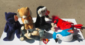 Ty beanie boos (lot of 6)