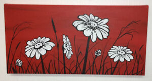 Daisies Painting