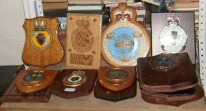 VARIOUS CANADIAN ARMED FORCES PLAQUES $5 TO $15