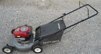 CRAFTSMAN REAR BAG LAWNMOWER