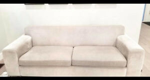 1 year old couch for sale! From moes home collection