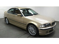 2001 BMW 330d SE MET GOLD,LEATHER,LONG MOT,CHEAP CAR