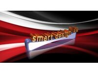 Smart design and print business Cards leaflets ,logo, 3D logos, banners, facebook posts