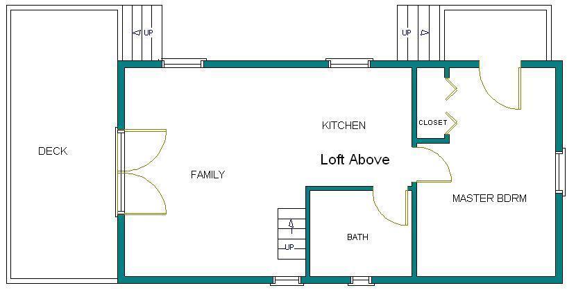 16x32 cabin w loft plans package blueprints material for 8 x 16 cabin plans
