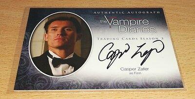 Vampire Diaries Season 3: Casper Zafer as 'Finn' Autograph Card A20