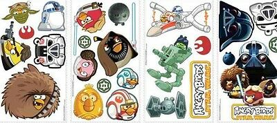 ANGRY BIRDS STAR WARS 24 BiG Wall Stickers Room Decor Decals Bedroom Decoration - Star Wars Bedroom Decorations