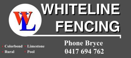 Whiteline Fencing Maida Vale Kalamunda Area Preview