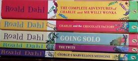 Roald Dahl books set of 12