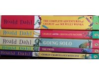 Roald Dahl books set of 12
