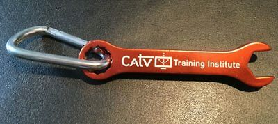 CATV Training Institute 7/16 Keychain Wrench