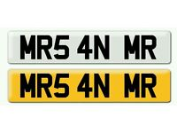 Personalised registration Private number plate MRS AN MR wedding car married wife husband couple