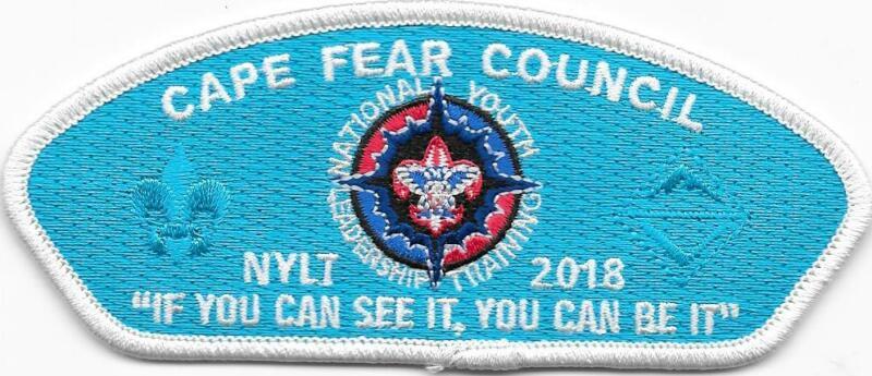 Cape Fear Council Strip 2018 NYLT CSP SAP Klahican Lodge 331 North Carolina BSA