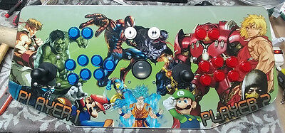 2TB Computer inside custom joystick w/art and lexan, Complete Hyperspin config