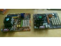 2 x AMD Motherboards with CPU/Fan
