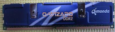 Qimonda 1GB PC2-8500 DDR2-1066MHz CL7 240-Pin DIMM HYS64T128020EU-19H-C Memory