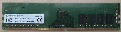 Kingston 8GB 1Rx8 PC4-2666V Memoria RAM DDR4 - Originale HP