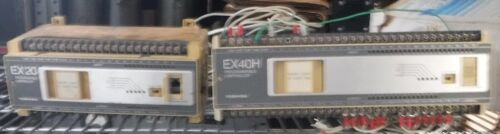 TOSHIBA  EX40H AND  EX 20   CONTROLLERS   UNTESTED COND      FREE SHIPPING